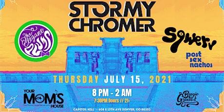 Stormy Chromer | The Elegant Plums | Sqwerv | Post Sex Nachos tickets