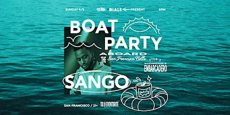 SANGO - Boat Party / San Francisco tickets