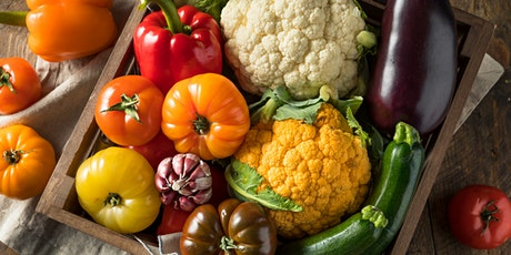 VIRTUAL - Recipes with Summer's Fresh Produce from Local Farmers' Markets tickets