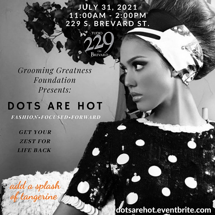 """""""Dots Are Hot"""" Ladies Brunch & Fashion Show Experience image"""