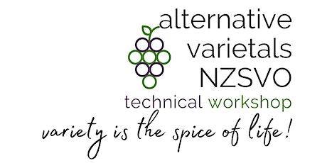 Alternative Varietals Technical Workshop tickets