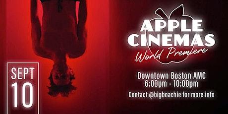 The World Premiere of Apple Cinemas tickets