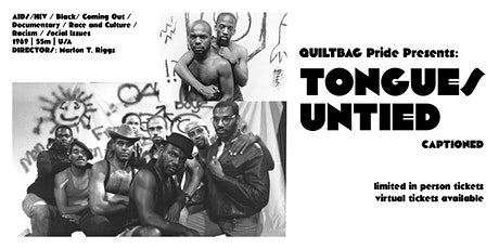 QUILTBAG Pride Presents: Tongues Untied *CAPTIONED* tickets