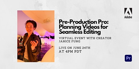 Pre-Production Pro: Planning Videos for Seamless Editing tickets