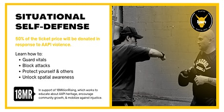 Situational Self-Defense: Unlocking Body and Spatial Awareness tickets