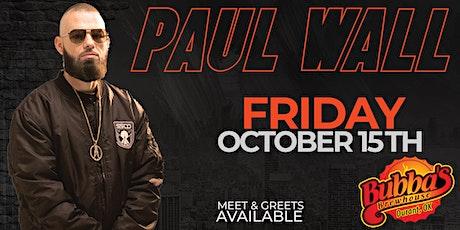 Paul Wall tickets