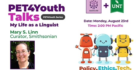 DataEthics4All + University of North Texas Present PET4Youth Talk tickets