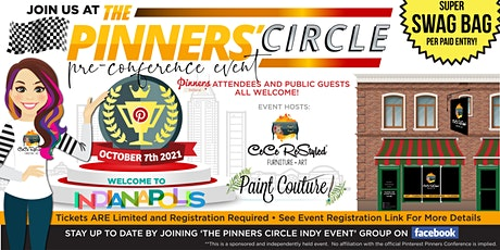 The 'Pinner's Circle' Indy - with CeCe ReStyled and Paint Couture Paint tickets