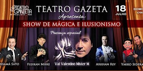 Desconto para Show de Mágica & Ilusionismo no Teatro Gazeta ingressos