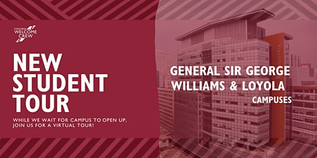 New Student Tour: General (SGW/LOY) tickets