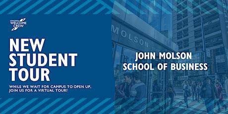 New Student Tour: John Molson School of Business tickets