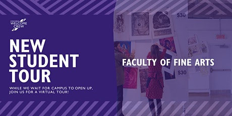 New Student Tour: Faculty of Fine Arts tickets