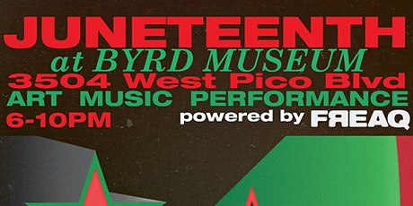 JUNETEENTH 2021 at BYRD MUSEUM Powered by FREAQ tickets