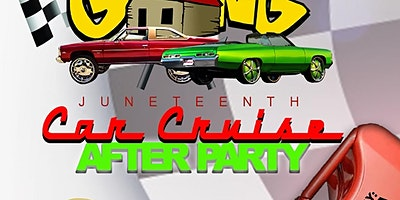 THE OFFICIAL JUNETEENTH CRUISE AFTER PARTY