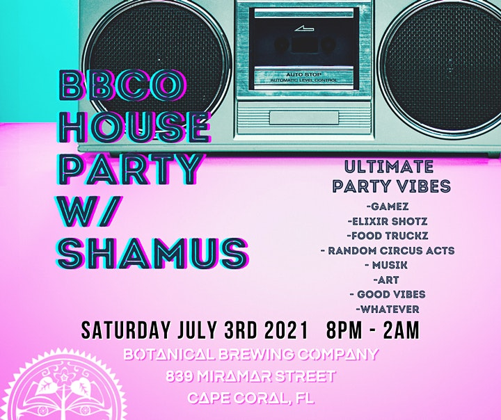 BBCO House Party thrown by DJ Shamus image