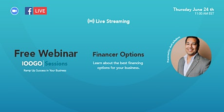 IOOGO Sessions - Financing Options tickets