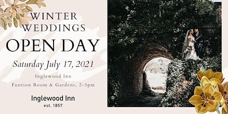 Inglewood Inn Wedding Open Day 2021 tickets