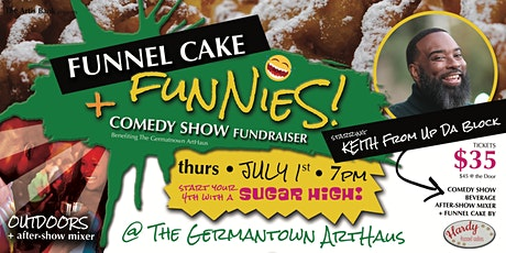 FUNNEL CAKE + FUNNIES Comedy Show Fundraiser! tickets