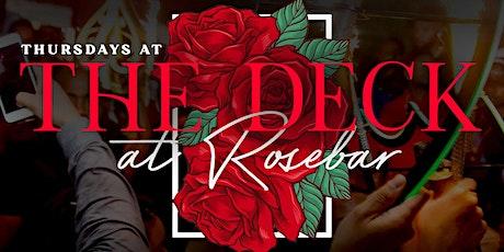Rosebar Thursdays tickets