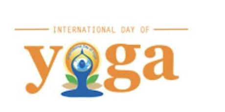 International Day of Yoga Free Headphone Yoga Class! tickets