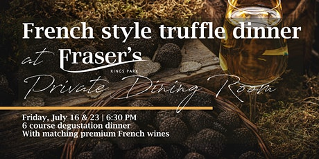 French style truffle dinner | Private Dining Room tickets