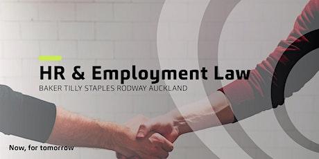 HR & Employment Law Update | Critical Point Network™ tickets