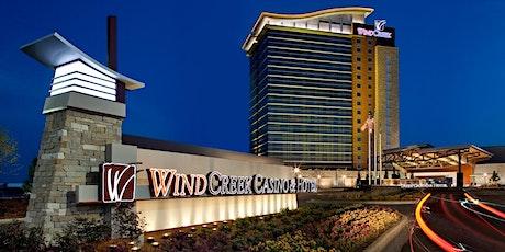 Express Trip To Wind Creek Casino and Hotel, Wetumpka, AL tickets