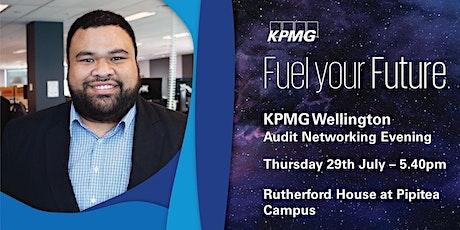 KPMG Audit Networking Evening Wellington 2021 tickets