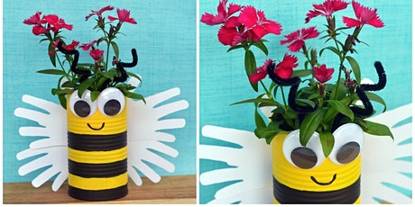 Bumble bee planter (Mudgee Library, ages 6-8) tickets