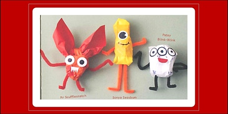 July School Holidays: Paper Monsters Craft - Seaford Library tickets