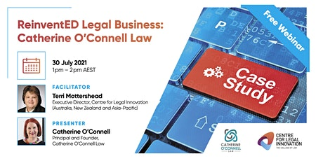 ReinventED Legal Business: The Case Studies - Catherine O'Connell Law entradas