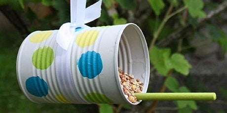 Tin can bird feeders (Mudgee Library, ages 6-8) tickets