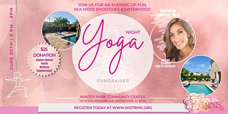 Women on the Rise Orlando Evening of Yoga tickets