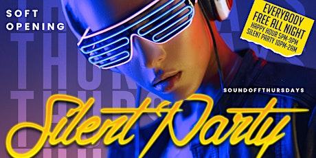 SOUND OFF THURSDAYS: SILENT HEADPHONE PARTY tickets