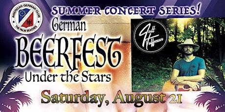 """Beerfest """"Under the Stars"""" Summer Concert Series tickets"""