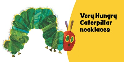 Very Hungry Caterpillar necklaces