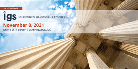 International Grantmaking Symposium - IGS 2021 tickets
