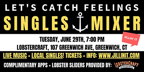 Singles Mixer for 50s + 60s tickets