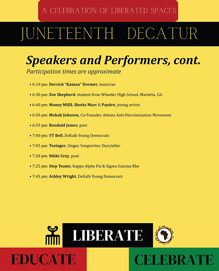 Juneteenth Decatur: A Celebration of Liberated Spaces image