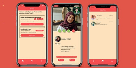 Online Muslim Singles Event 25 -40 Nottingham tickets
