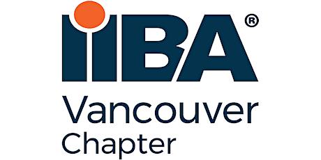 IIBA Vancouver Chapter Volunteer Engagement Meeting tickets