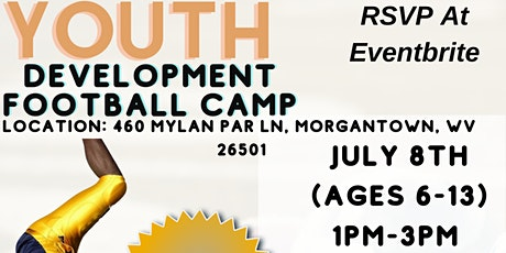 Youth Development Football Camp tickets