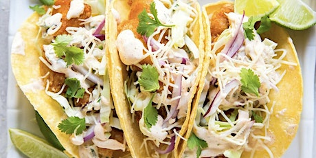Cooking with Jeff - Street Food - Baja fish tacos tickets