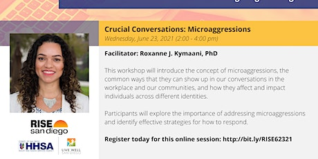 Crucial Conversations: Microaggressions tickets