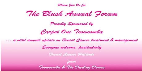 Blush Forum tickets