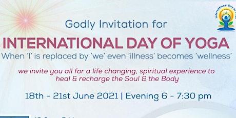 International Day of Yoga Registration tickets