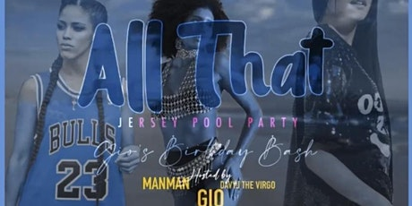All That Jersey Pool Party tickets