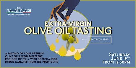 Olive oil tasting with Bottega 1900 tickets