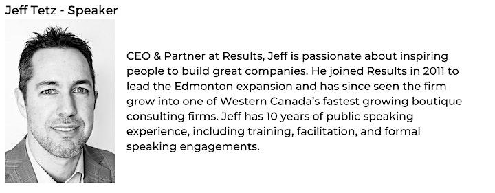 Creating Predictable Business Outcomes - Edmonton Application image