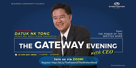 The Gateway Evening with CEO: The Power of The Written Word tickets